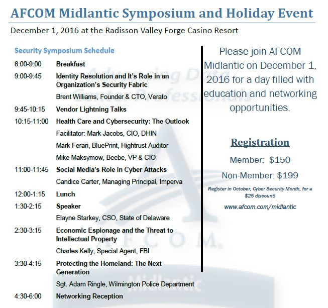 AFCOM Holiday Event 2016