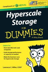 Hyperscale Storage Hedvig PTS