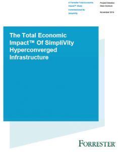 Simplivity hyperconvergence Total Economic Impact