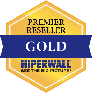 PTS Reaches Hiperwall Premier Gold Reseller Status