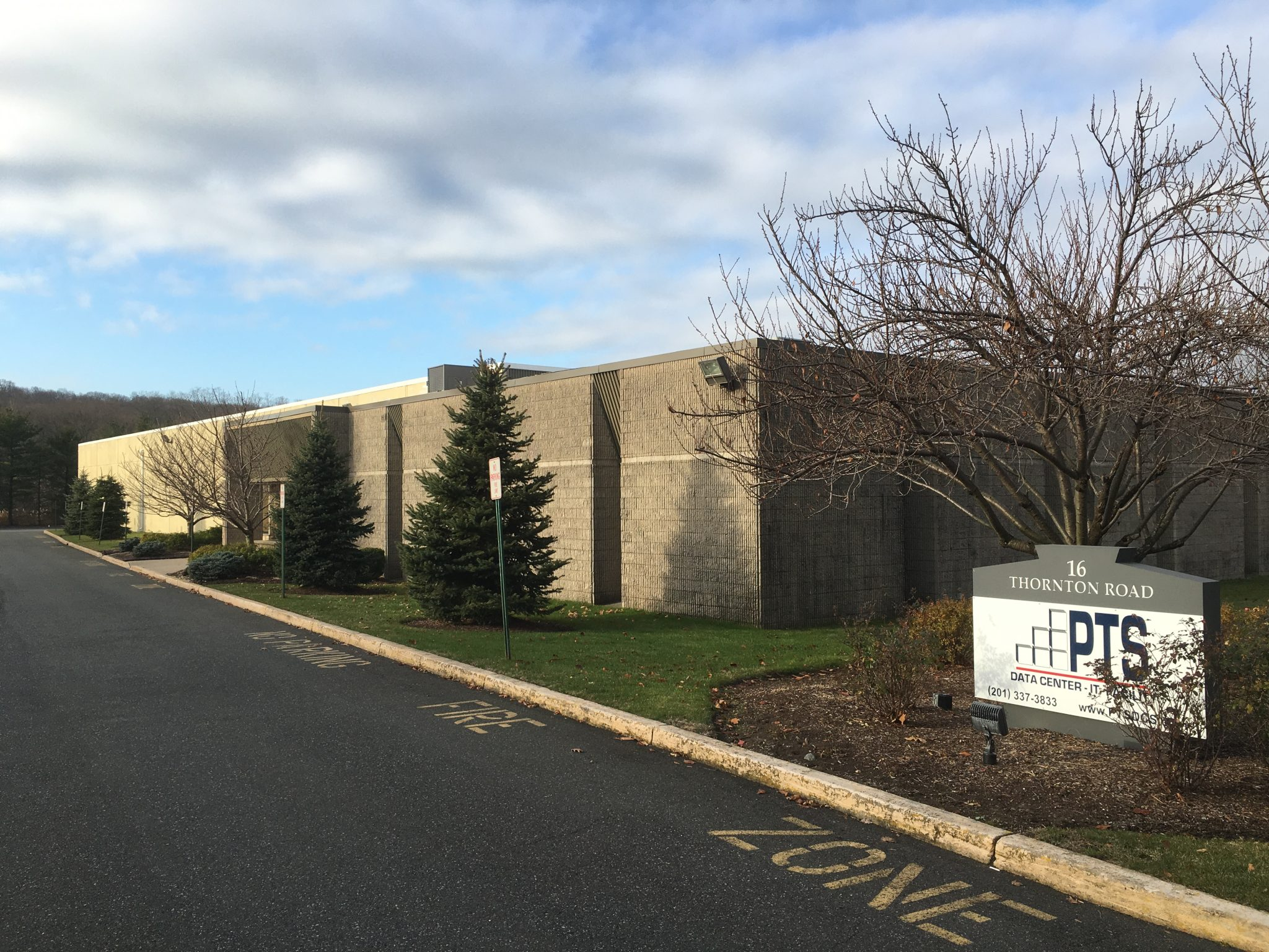 Available Lease Space in PTS' Headquarters Building (Oakland, NJ)