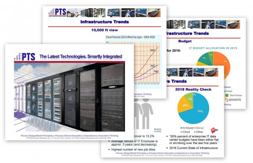 PTS Data Center Solutions Company Overview with Industry Trends Data