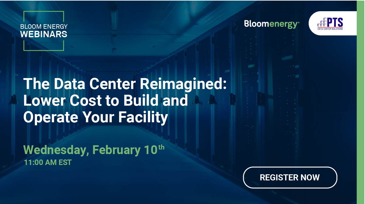 Read more about the article Webinar: The Data Center Reimagined – Lower Cost to Build and Operate Your Facility