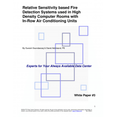 PTS Data Center Solutions Releases White Paper on Relative Sensitivity Fire Detection Systems