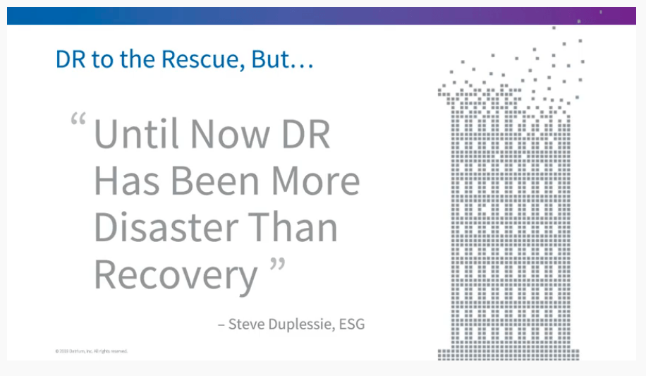 On-Demand Disaster Recovery as a Service