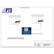 PTS NOC Lighting and Line of Sight Layout Services