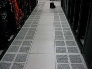 Computer Room Cold Aisle Raised Floor