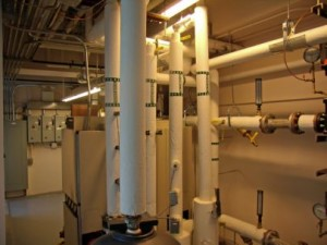 Data Center Chilled Water Condenser Water Piping