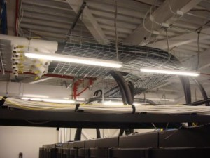 Data Center Overhead Cable Tray