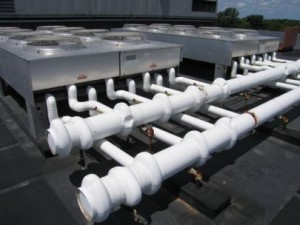 Dry Cooler Farm with Piping