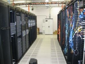 Operational Data Center Racks and Network