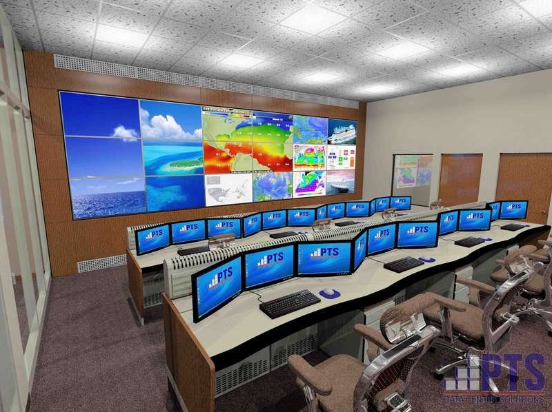 Network Operations Center NOC Design Services PTS Data Center